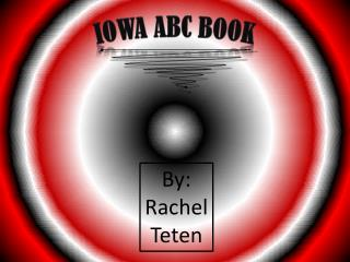 Iowa abc book