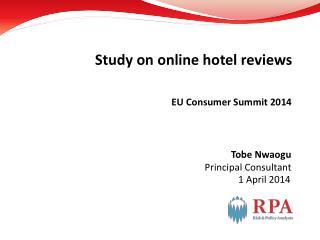EU Consumer Summit 2014
