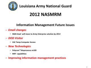 Louisiana Army National Guard