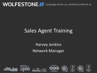 Sales Agent Training