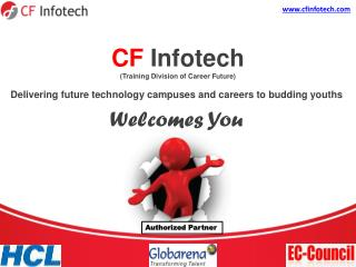 CF Infotech (Training Division of Career Future)