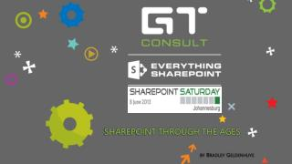 SharePoint Through the Ages