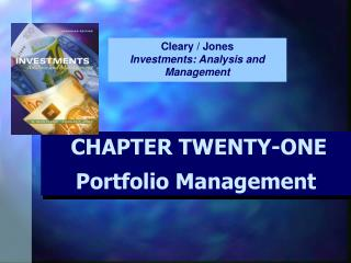 CHAPTER TWENTY-ONE Portfolio Management