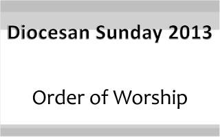 Diocesan Sunday 2013