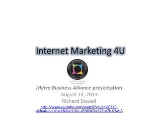 Internet Marketing 4U