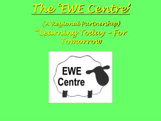"The 'EWE Centre'  (A Regional Partnership) ""Learning Today – For Tomorrow"