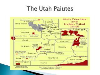 The Utah Paiutes