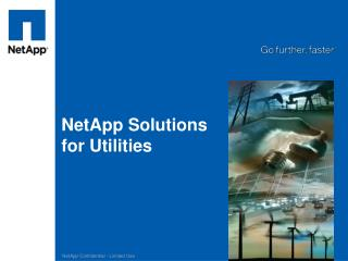 NetApp Solutions for Utilities