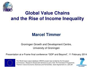 Global Value Chains  and the Rise of Income Inequality
