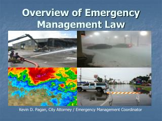 Overview of Emergency Management Law