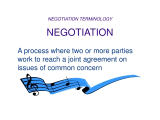NEGOTIATING YOUR EMPLOYMENT CONTRACT