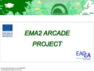 EMA2  ARCADE PROJECT