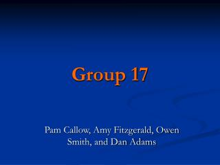 Group 17