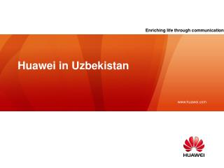 Huawei in Uzbekistan