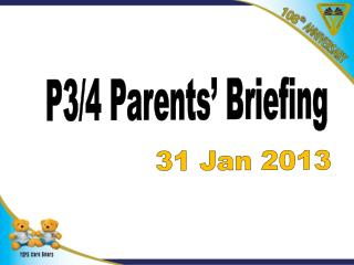P3/4 Parents' Briefing