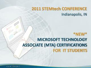 2011  STEMtech  conference
