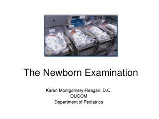 The Newborn Examination