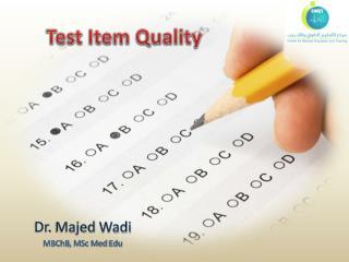 Test Item Quality