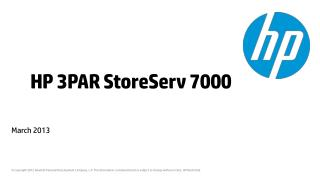 HP 3PAR StoreServ 7000