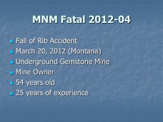 MNM Fatal 2012-04