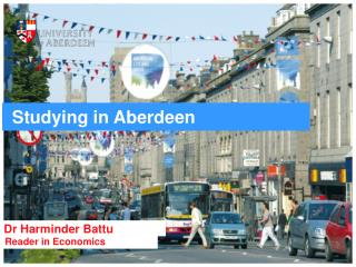 Studying in Aberdeen