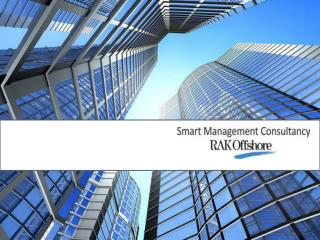 Smart Management Consultancy FZ - LLC  is a Registered  Agent of   RAK Offshore
