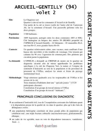 ARCUEIL-GENTILLY (94) volet 2