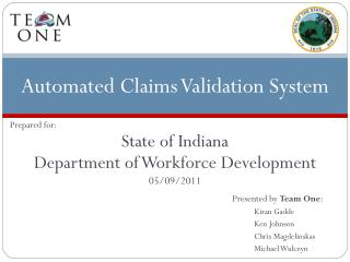 Automated Claims Validation System