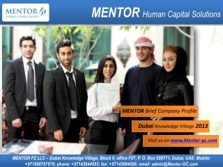 MENTOR  Human Capital Solutions
