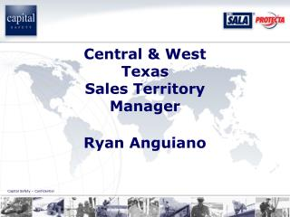 Central & West Texas Sales Territory Manager Ryan Anguiano