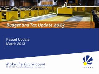 Fasset Update March 2013