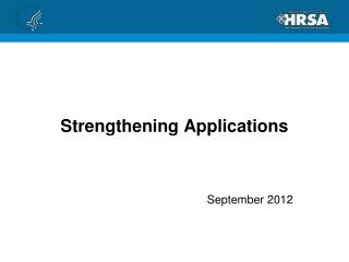 Strengthening Applications