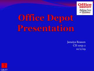 Office Depot Presentation
