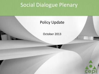 Social Dialogue Plenary