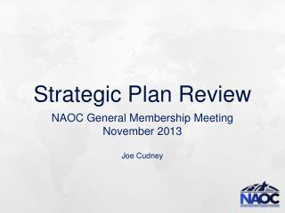 Strategic Plan Review