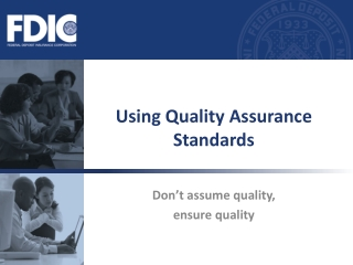 Assuring Quality in Laboratory Performance