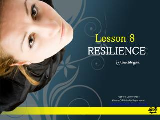Lesson 8   RESILIENCE