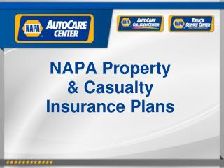 NAPA Property & Casualty Insurance Plans