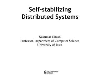 Self-stabilizing Distributed Systems