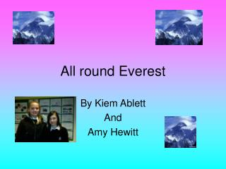All round Everest