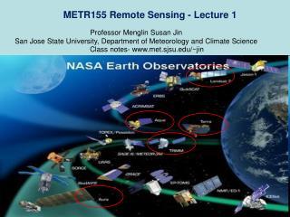 METR155 Remote Sensing - Lecture 1
