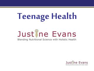 Teenage Health