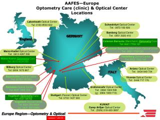 Europe Region—Optometry & Optical