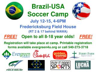 Brazil-USA  Soccer Camp