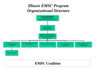 Illinois EMSC Program Organizational Structure