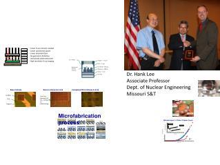 Dr. Hank Lee Associate Professor Dept. of Nuclear Engineering Missouri S&T
