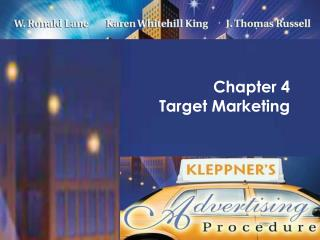 Chapter 4  Target Marketing