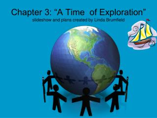 "Chapter 3: ""A Time  of Exploration"" slideshow and plans created by Linda Brumfield"