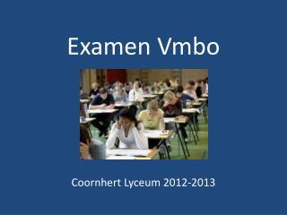 Examen  Vmbo