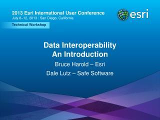 Data Interoperability An Introduction